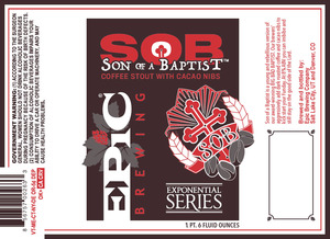 Epic Brewing Company Son Of A Baptist