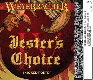 Weyerbacher Jester's Choice Iv Smoked Porter