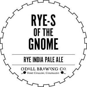 Odell Brewing Company Rye-s Of The Gnome
