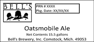 Bell's Oatsmobile Ale