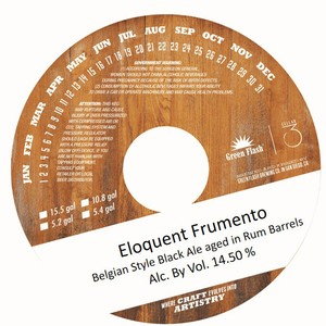Green Flash Brewing Company Eloquent Frumento