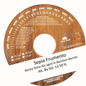 Green Flash Brewing Company Sepia Frumento