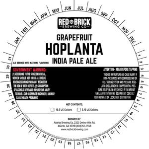 Red Brick Grapefruit Hoplanta