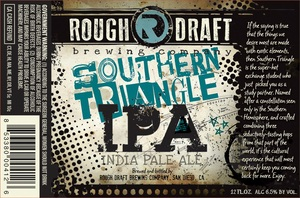 Rough Draft Brewing Company Southern Triangle