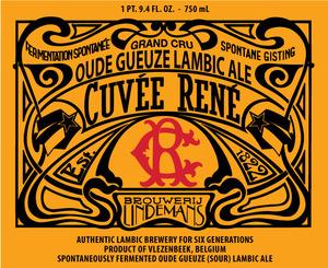 Lindemans Cuvee Rene Oud Gueuze
