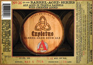 Avery Brewing Co. Expletus Barrel-aged Sour