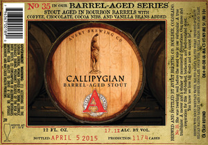 Avery Brewing Co. Callipygian Barrel-aged Stout