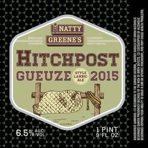 Natty Greene's Brewing Co. Hitchpost Gueuze