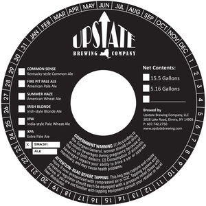 Upstate Brewing Company Smash Ale