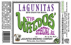 The Lagunitas Brewing Company Waldos' Special