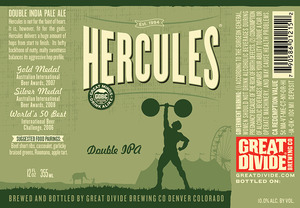 Great Divide Brewing Company Hercules Double IPA