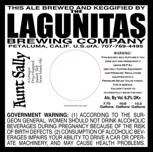 The Lagunitas Brewing Company Aunt Sally