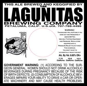 The Lagunitas Brewing Company Lucky 13