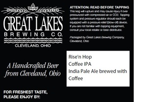 The Great Lakes Brewing Co. Rise'n Hop