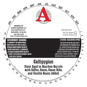 Avery Brewing Co. Callipygian