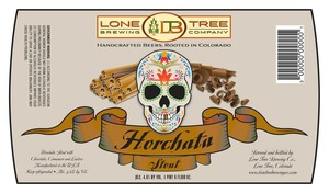 Lone Tree Brewing Company Horchata Stout