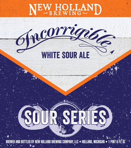 New Holland Brewing Company Incorrigible