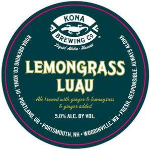 Kona Brewing Co. Lemongrass Luau