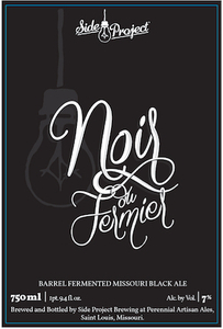 Side Project Brewing Noir Du Fermier