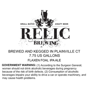 Relic Brewing Flaxen Foal