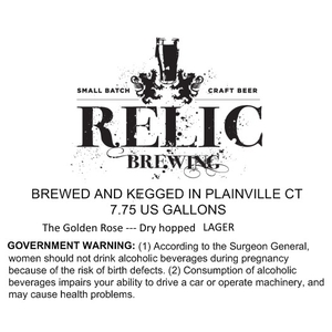 Relic Brewing The Golden Rose
