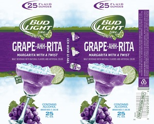 Bud Light Lime Grape-ahh-rita