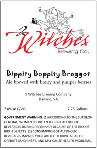 2 Witches Brewing Company Bippity Boppity Braggot