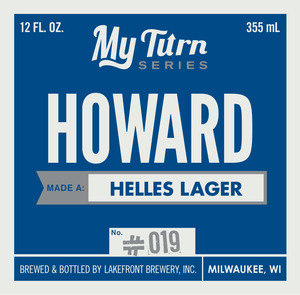 Lakefront Brewery Howard Made A Helles