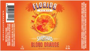 Shipyard Brewing Co. Blood Orange
