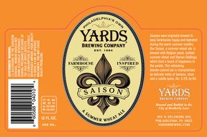 Yards Brewing Company Saison