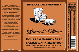 Breakside Brewery Bourbon Barrel-aged Salted Caramel Stout