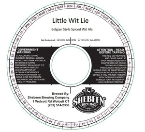 Shebeen Brewing Company Little Wit Lie