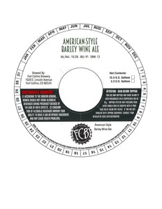 Fort Collins Brewery American-style Barley Wine