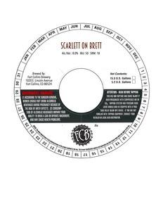 Fort Collins Brewery Scarlett On Brett
