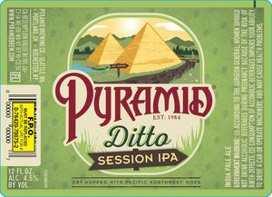 Pyramid Ditto Session IPA