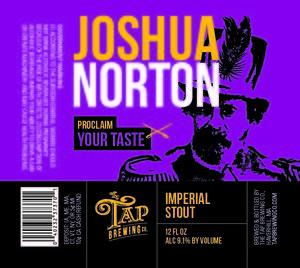 Tap Brewing Company Joshua Norton