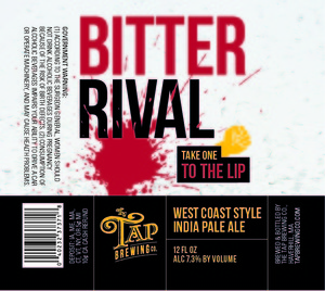 Tap Brewing Company Bitter Rival