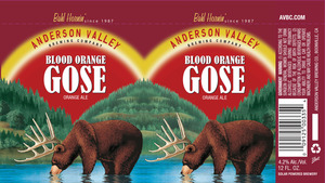 Anderson Valley Brewing Company Blood Orange Gose