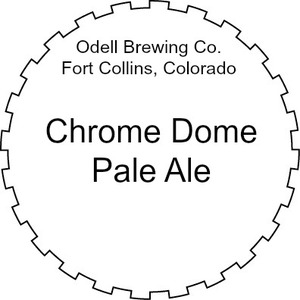 Odell Brewing Company Chrome Dome Pale Ale