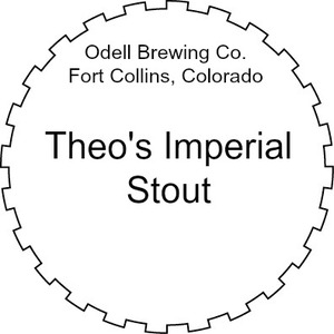 Odell Brewing Company Theo's Imperial Stout