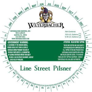 Weyerbacher Line Street Pilsner