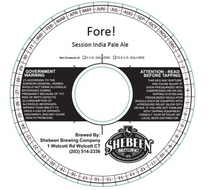 Shebeen Brewing Company Fore!