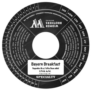 Widmer Brothers Brewing Company Bayern Breakfast