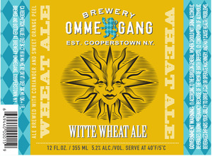Ommegang Witte Wheat Ale