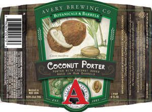 Avery Brewing Co. Coconut Porter