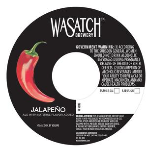 Wasatch Brewery Jalapeno