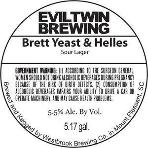 Evil Twin Brewing Brett Yeast & Helles