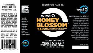 West O Honey Blossom Saison