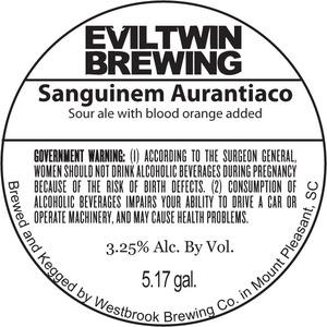 Evil Twin Brewing Sanguinem Aurantiaco
