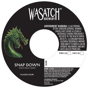 Wasatch Brewery Snap Down